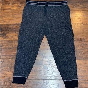 Felina black gray joggers XXL Sturdy elastic waist